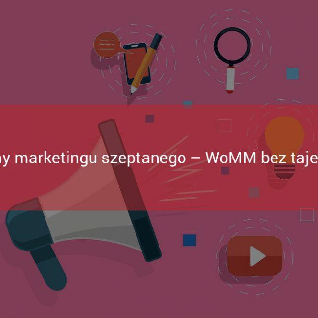 formy marketingu szeptanego